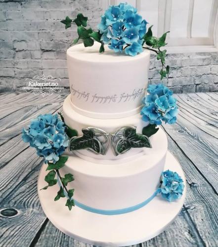 ringenes-herre-inspirert m:blå hortensia